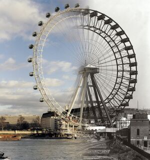 The London Eye & The Great Wheel FF000710