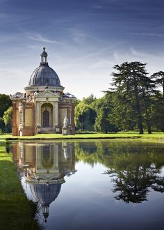 Long Water and Archer Pavilion, Wrest Park N100585