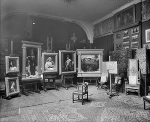 Lord Frederic Leighton's studio BL13090_A