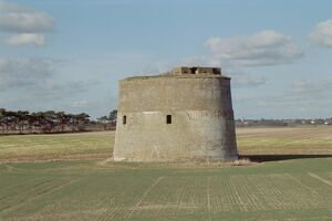 Martello Tower at TM 361 419.