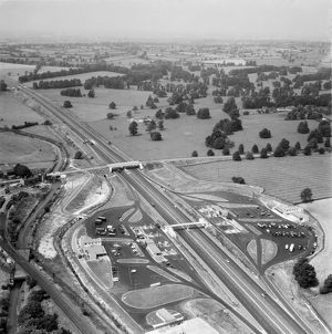 Motorway Services 1961 EAW094297