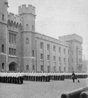 Parade Ground, Tower of London 1868 BB83_04749