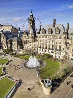 Peace Gardens, Sheffield DP136252