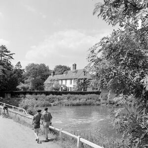 Mill Pond, Grantchester AA074220