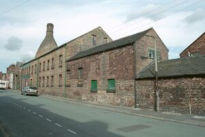 Pottery Works, Stoke on Trent.