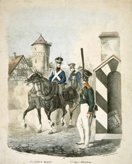 Prussian soldiers J840001