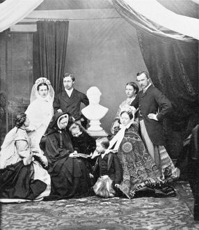 Queen Victoria and her family N950005