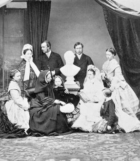 Queen Victoria and her family N950006
