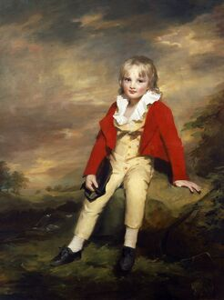 Raeburn - Sir George Sinclair as a Boy J870221