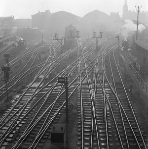 Railway tracks, Kings Cross AA073103
