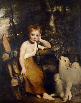 Reynolds - The Young Shepherdess J030042