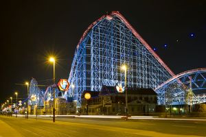 Roller Coaster, Blackpool Pleasure Beach N100540