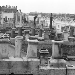 Roof tops, Eaton Place, London AA064894
