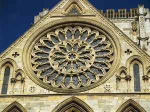 Rose Window, York Minster K011131