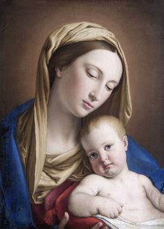 Salvi - Virgin and Child N070572