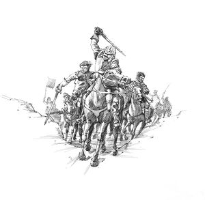 Scottish cavalry, Battle of Newburn Ford IC070_001