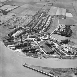 Shipyard at Goole EAW030613
