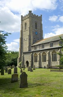 St James Church, Castle Acre, Norfolk N080181