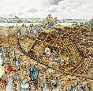 Sutton Hoo ship burial J910330