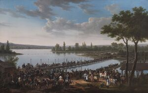 Swebach - The Passage of the Danube by Napoleon N070528