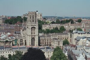 University Tower and Wills Memorial Building