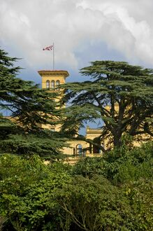 View of Osborne House through the trees N080287