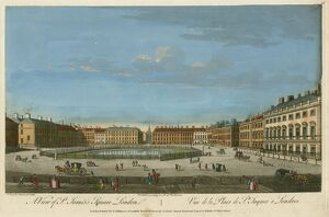 View of St James's Square, London c.1753 N060027