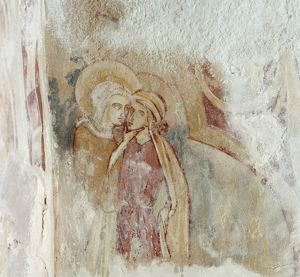 Wall painting, Agricola Tower, Chester Castle N920003