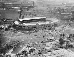 Wembley under construction 1923 EPW008279