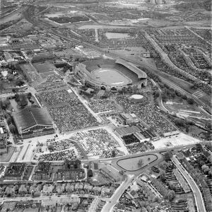 Wembley Stadium 1955 EAW058471