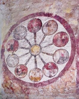 Wheel of Life, St Mary's Church, Kempley N100456