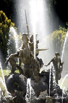 Witley Court fountain N060788