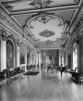 Witley Court Music Room c.1920 BL25088