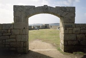 Woolpack Battery, Garrison Walls, Isles of Scilly K920413