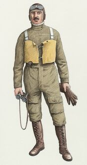 World War One flying boat pilot N100005