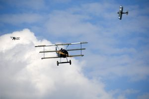 World War I aircraft re-enactment N070970