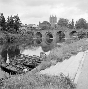 Wye Bridge, Hereford AA98_05099